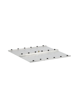 Metal pulling plate for...