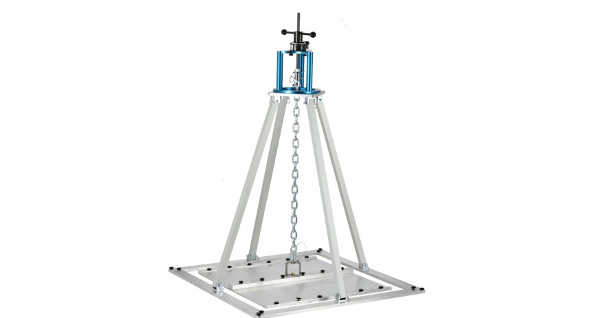 Adhesion testing with Com-ten Pulltester and uplift kit