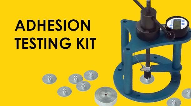 Adhesion testing kit