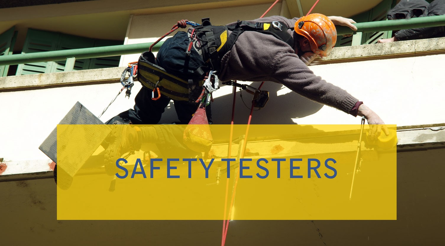 Saftey and life line testers